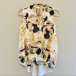 Anthropology Dolan flower top GUC